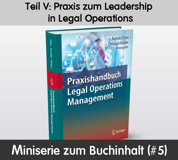 Legal Operations Leadership